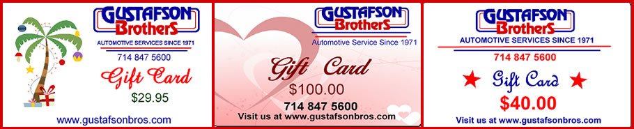 Gustafson Brothers Gift Cards