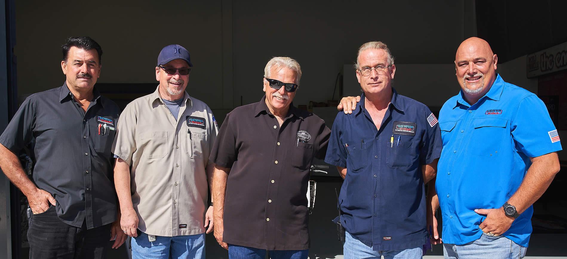 huntington beach auto mechanics @ gustafson bros auto repair shop