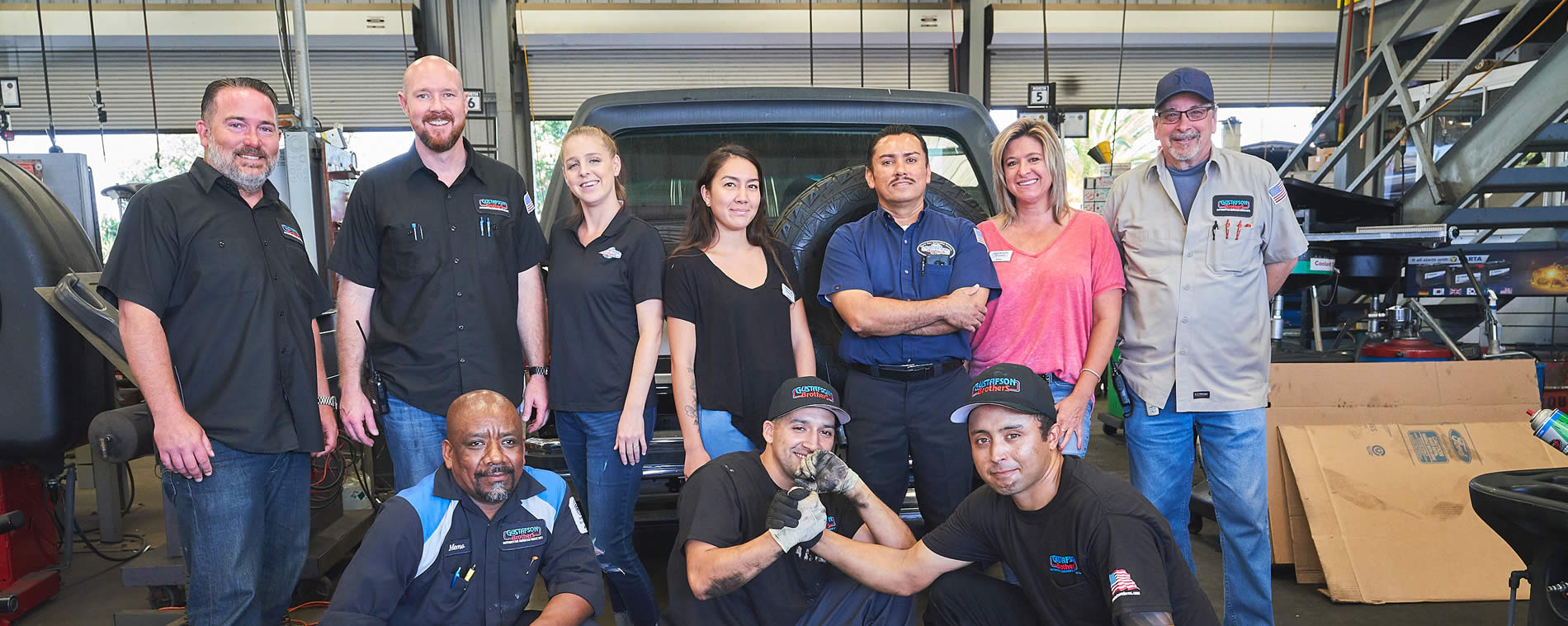 huntington beach auto repair shop & auto body shop employees