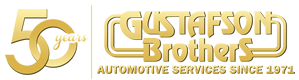 Gustafson Brothers Automotive Huntington Beach Logo