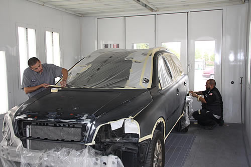 auto body collision repair shop in huntington beach