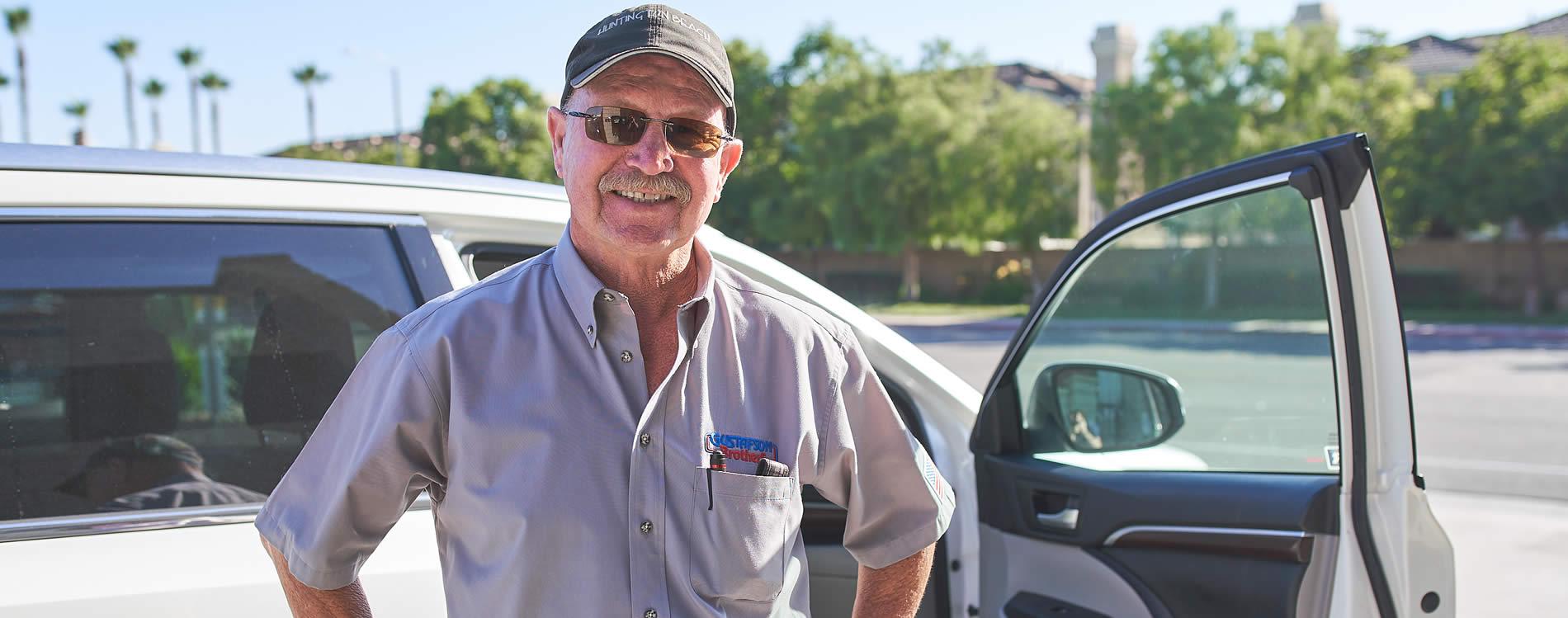 gustafson bros auto mechanic shop employee